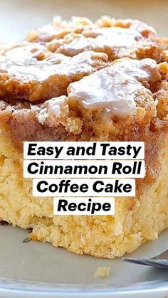 Fun Baking Recipes, Easy Cake Recipes, Sweet Recipes, Bake Goods Recipes, Recipes With Lemon, Recipes With Cream Cheese, Simple Dessert Recipes, Cinnamon Cake Recipes, Cinnamon Roll Cupcakes