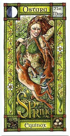 Farah Leyeli Zeraoui La fecha para celebrar Ostara es el 21 de Marzo en el Hemisferio Norte y el 21…