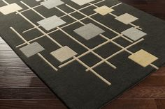 FM-7200, Charcoal, Hand Tufted, Surya Rug Co., Contempo available from rugsdoneright.com