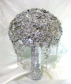 Brooch Boutonniere | Cascading Wedding Bouquet-Buy Cheap Cascading Wedding Bouquet lots ...