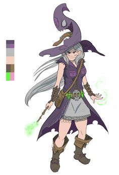 ArtStation - Witch, Fitzfactor Design
