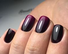 love these ombre nails Fingernail Designs, Ombre Nail Designs, Black Nail Designs, Gold Manicure, Manicure And Pedicure, Cute Pink Nails, Pretty Nails, Winter Nails, Spring Nails