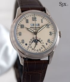 Hands-On with the Patek Philippe Ref. Calendar Time, Patek Phillippe, Swiss Made Watches, Perpetual Calendar, Omega Watch, Hands, Elegant, Luxury, Accessories