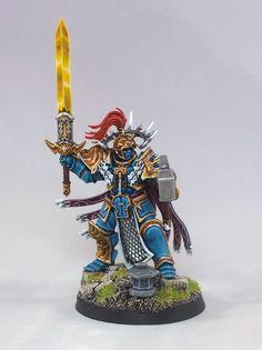 Warhammer Age of Sigmar   Stormcast Eternals   Hero #warhammer #ageofsigmar #aos #sigmar #wh #whfb #gw #gamesworkshop #wellofeternity #miniatures #wargaming #hobby #fantasy