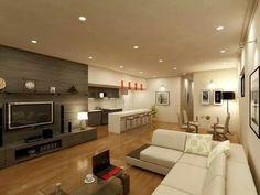 Living Area Render for Real Estate Marketing - Salamander Bay NSW 3d Architectural Rendering, 3d Architectural Visualization, 3d Visualization, 3d Rendering, Interior Design Living Room, Living Room Decor, Living Rooms, Living Spaces, 3d Architecture