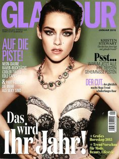 Fabergé Composition Rouge et Verte Necklace  #AsSeenOn Kristen Stewart on the cover of Glamour Germany. #Fabergé #KristenStewart #necklace