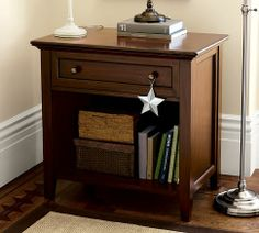Pottery Barn - hudson wide bedside table