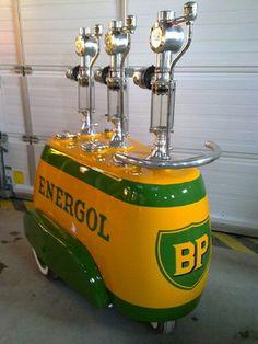 RARE Distributor of Oil B P Energol No Gas Pump Texaco Gulf | eBay