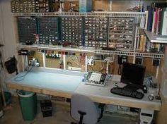 Result for ultimate electronics lab projects to try in 2019 electronic work Electronics Projects, Hobby Electronics, Electronics Storage, Arduino, Workshop Studio, Workshop Bench, Workshop Ideas, Workshop Layout, Design Innovation
