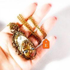 Anche questo bel faccino aspetta di essere adottato... su Etsy!  http://ift.tt/2oYeHWw    #archidee #becreative #bepositive #fantasystones #instajewelry #instafashion #fashionista #moda #modafashion #ootd #accessories #handmade #supporthandmade #madeinitaly #creativeentrepreneur #createdtocreate #onsale #available #outfit #creativehub #fashionlover #woman #donna #webstagram #etsyfind #etsy #etsyshop #etsymaker #etsysellers #etsyjewelry