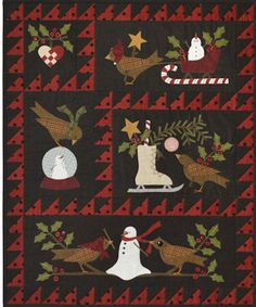 Berties Winter Quilt Block a Month Join Now!