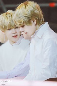 Jimin and Taehyung
