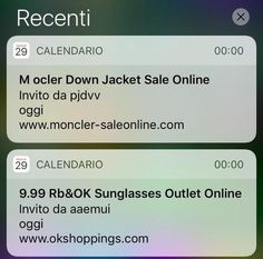#3businessnews: Boom di spam sugli #iPhone,scopri come evitarlo. http://www.ansa.it/sito/notizie/tecnologia/software_app/2016/12/01/iphone-boom-di-spam-nel-calendario_8d48737a-5ea1-46b5-8ea9-54e2423affd2.html