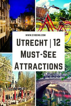 Europe Travel Outfits, Europe Travel Guide, Travel Checklist, Travel Essentials, Travel Guides, Places In Europe, Europe Destinations, Utrecht, Continents And Countries
