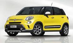 #Fiat #500Ltrekking. Le petit mais spacieux monospace.