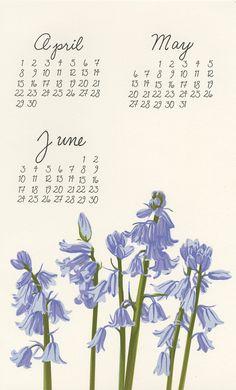 pie bird press calendar