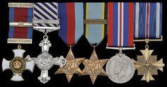 Medals - Past generations have fought in wars and were rewarded for their bravery, each one would tell a story. (Medals are usually passed down the family).