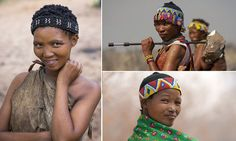 The San people live in Namibia and Botswana and are thought to have been around for more than 23,000 years