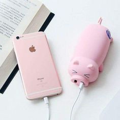 Iphone 6 s plus, iphone iphone charger, coque iphone, iphone cases, appl Cute Portable Charger, Portable Battery, Cute Phone Cases, Iphone Cases, Iphone 8, Iphone 6 S Plus, Mobile Photo, Teen Christmas Gifts, Accessoires Iphone