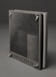 Amon Tobin limited edition package box
