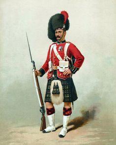 42nd Royal Highland Regiment  1875
