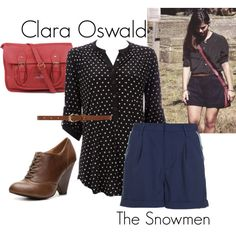 Designer Clothes, Shoes & Bags for Women Clara Oswald Clothes, Pretty Outfits, Cute Outfits, Disney Themed Outfits, Summer Outfits, Girl Outfits, Geek Fashion, Other Outfits, Doctor Who