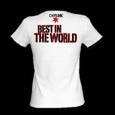 Best in the world футболка детская
