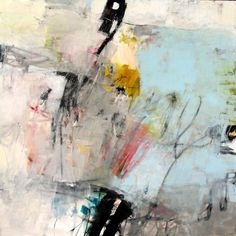 "Charlotte Foust, ""On the Perimeter"", mixed media on canvas"