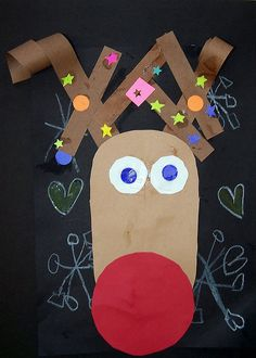 nadia- red nosed reindeer by karolann1229, via Flickr