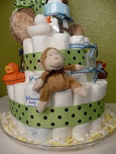 Lacey Kaye Creations Diaper Cake
