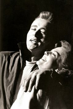 James Dean and Natalie Wood  can you guys like stop  #prettierthanyou