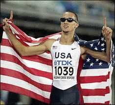 Jeremy Wariner 400 m USA