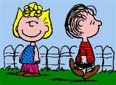 On May 25, 1959 Charlie Brown got a new baby sister. He was