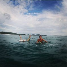 Sam Chandler is an avid surfer