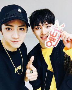 Wooseok and Kino