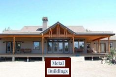 General Steel Buildings: Same Day Pricing in 3 Easy Steps and Metal Buildings Patio. General Steel Buildings, Metal Buildings, Metal Barn Homes, Pole Barn Homes, Pole Barns, Craftsman Style House Plans, Ranch House Plans, Metal Shop Building, Building A House