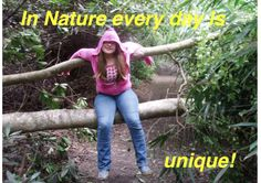#42 A fantastic entry from Philpots Manor School: 'In nature every day is unique'. How true! www.nationalchildrensdayuk.com