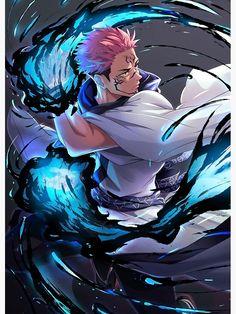 Jujutsu Kaisen Sukuna Poster