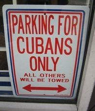 A sign on Calle 8 in Little Havana, Miami .Gotta love my people : ) love being Cuban South Miami, Miami Florida, Cuban Humor, Matanzas Cuba, Hialeah Florida, Cuban People, Cuban Culture, Little Havana, Afro Cuban