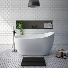 SHOP the Turin 1370 Small Modern Slipper Free Standing Bath at Victorian Plumbing UK Modern Baths, Contemporary Bathrooms, Modern Bathroom, Modern Contemporary, Modern Kids, Guest Bathrooms, Upstairs Bathrooms, Small Bathrooms, Gray Bathrooms