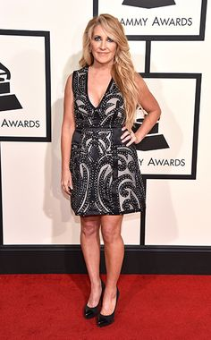 LeeAnn Womack arrives at the Annual Grammy Awards on February 2016 in Los Angeles. Grammy Awards 2016, Red Carpet 2016, Lee Ann Womack, Love Songs Lyrics, Red Carpet Fashion, Country Music, February 15, Actresses, Formal Dresses