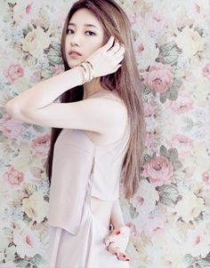 Suzy (Miss A) | Of Blush, Floral & Wallpaper Bouquets.