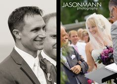 First look.    Rob & Mandy, August 2012 Door County Wedding in Baileys Harbor, WI.     © Jason Mann Photography   http://www.jmannphoto.com