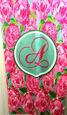 Lilly Pulitzer first impression beach towel. Monogrammed Beach Towels, Monogram Towels, Dorm Life, Grad Gifts, Southern Belle, Beautiful Space, Luxury Living, Bathroom Inspiration, Monograms