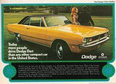 The old Dodge Dart....