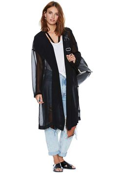 Sheer Luck Jacket | Shop Clothes at Nasty Gal