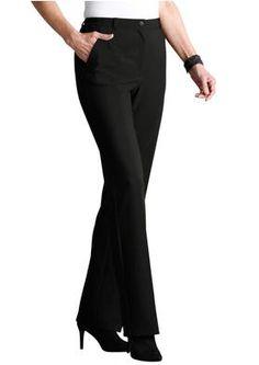Modernit housut musta