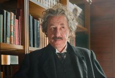 Geoffrey Rush plays Albert Einstein in National Geographic's new scripted series, Genius. Producer Ron Howard directed the pilot. Watch the Genius promo.