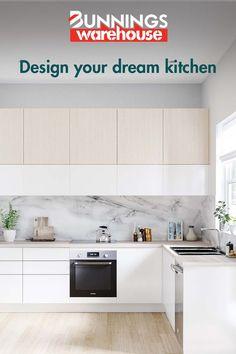 Kitchen Cabinet Design, Kitchen Reno, Interior Design Kitchen, Kitchen Remodel, Kitchen Cabinets, Off White Kitchens, Home Kitchens, New Kitchen Designs, Kitchen Ideas