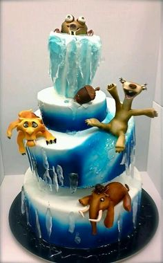 Ice Age cake...Awesome!
